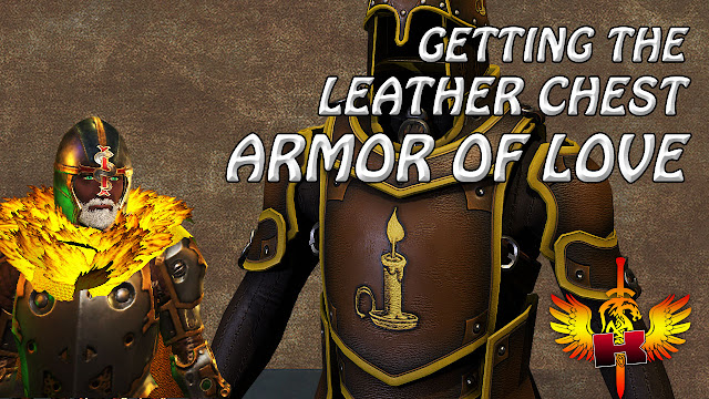 Getting The  Leather Chest Armor of Love In Solania