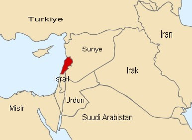 Lübnan Nerede ve Lübnan Neresi