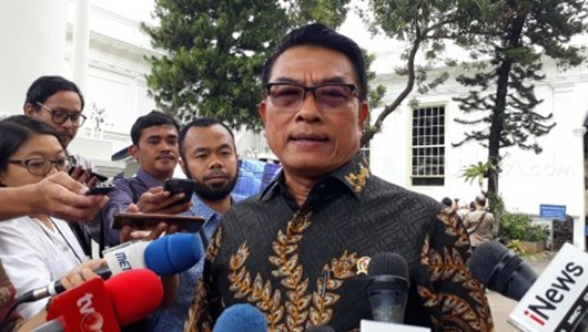 Ada Coretan 'Jokowi Bohong', Moeldoko: Tulisan Harus Cerminkan Bangsa Beradab