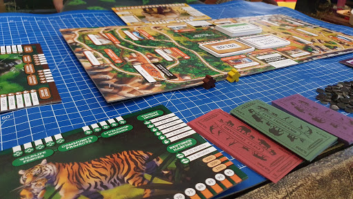 Conservation Crisis Game review table top layout gameplay