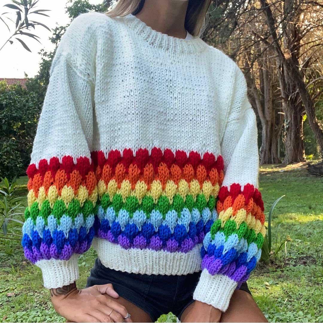 Sweaters tejidos otoño invierno 2021