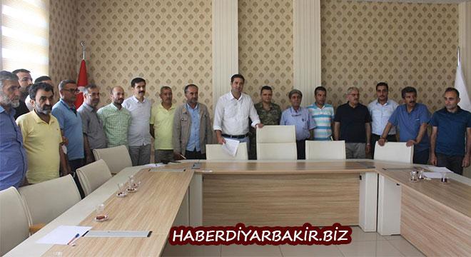 Diyarbakır Bismil'de 15 Temmuz etkinlikleri için toplantı yapıldı