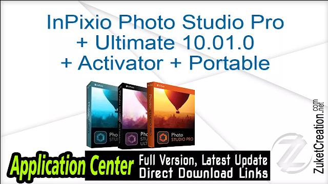 InPixio Photo Studio Pro + Ultimate 10.01.0 + Activator + Portable