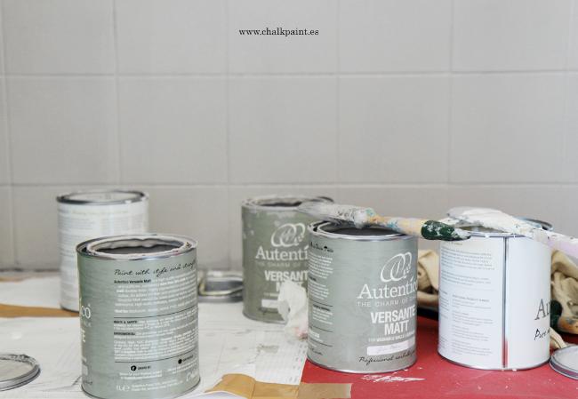 el proceso es muy simple y el material necesario es mnimo aprende como pintar azulejos