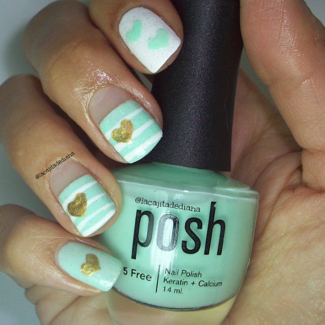 PoshPolish-GoldNails