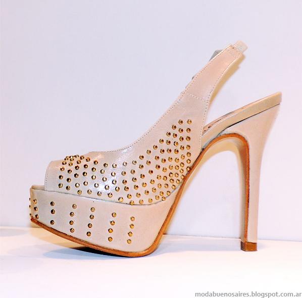 Zapatos primavera verano 2014 Alfonsa Bs As.
