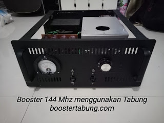 Produk Boster 144 Mhz menggunakan teknologi Tabung