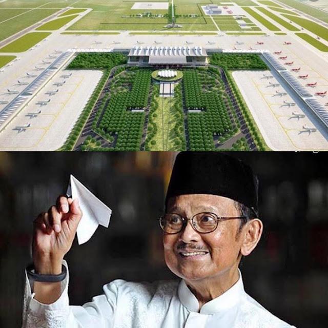 Bandara Kertajati Diganti Nama Jadi BJ Habibie