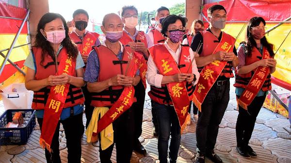 鹿港地藏王廟放水燈 重現鹿港風華祭水靈