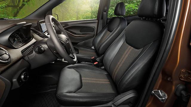 Novo Ford Ka 2019 - interior - painel