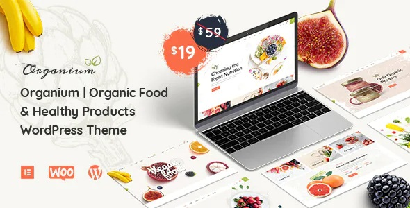 Best Organic Food Products WordPress Theme