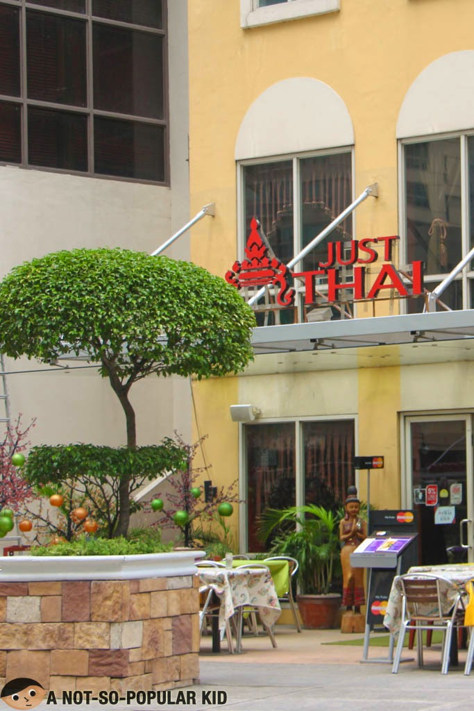 Just Thai Restaurant in Burgos Circle, Taguig City