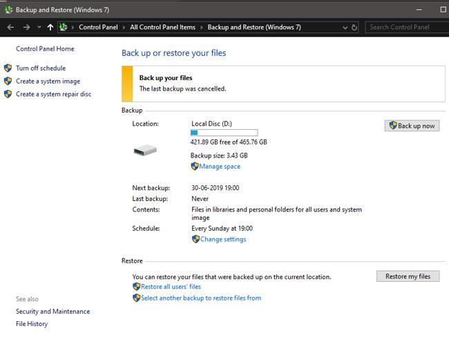استعادة الملفات المحذوفة Windows 10 4