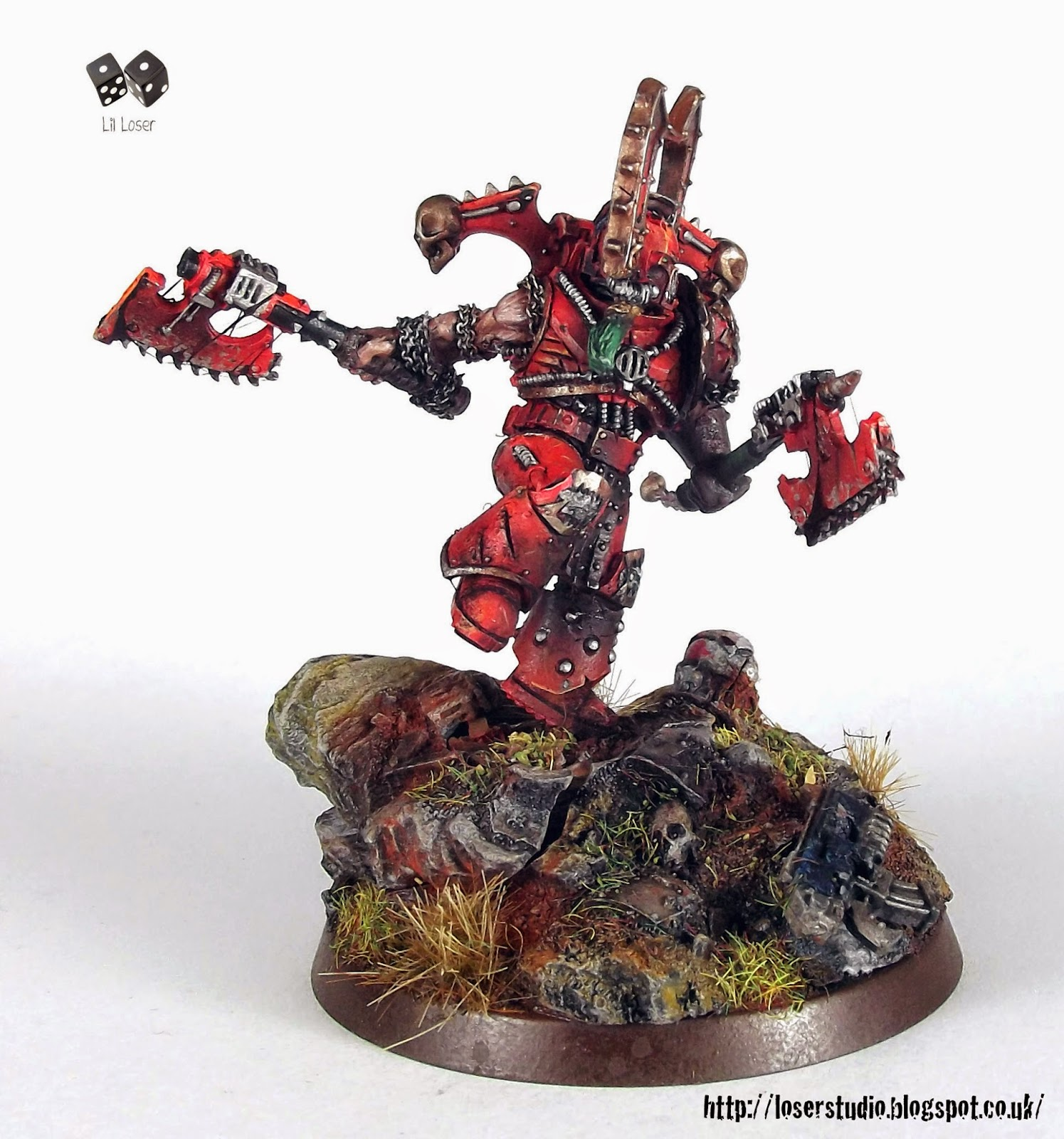 Kharn the Betrayer Heresy Miniature Conversion   Wargaming Hub
