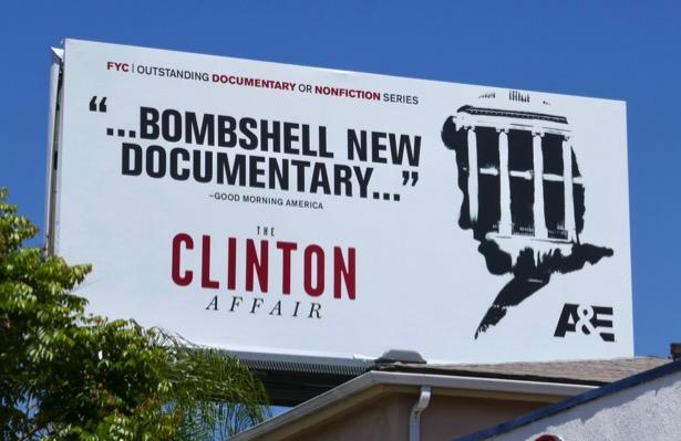 Clinton Affair Emmy FYC billboard