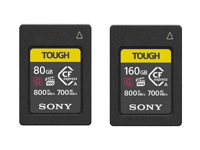 【攝影情報】Sony a7S III 重磅登場後,同場加映 CFExpress Type A 記憶卡 - Sony TOUGH 系列提供了 CFExpress Type A 的記憶卡選擇