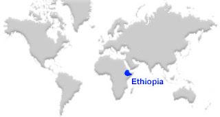 image: Ethiopia Map location