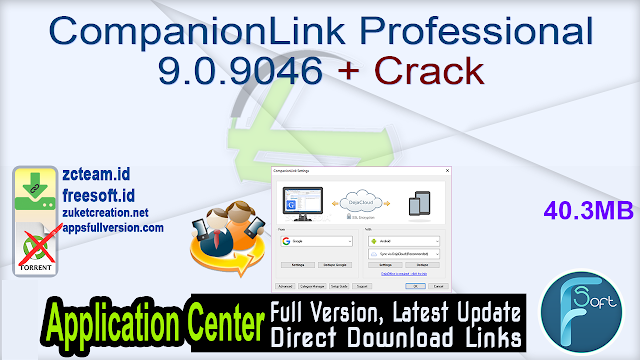 CompanionLink Professional 9.0.9046 + Crack_ ZcTeam.id