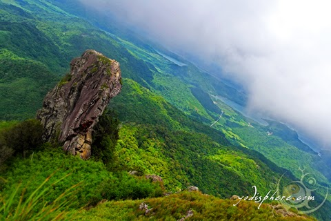 View of the monolith and the surrounding vistas from the summit of Mt. Pico de Loro  hover_share