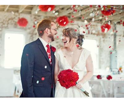 Casamento inspirado no natal