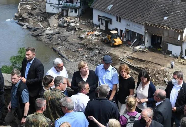 Inundaciones en Europa Occidental
