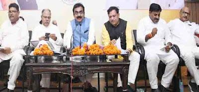 भाजपा विधायकों को प्रलोभन दे रही है कांग्रेस : प्रदेशाध्यक्ष