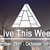 Live This Week: September 29th - October 5th, 2019