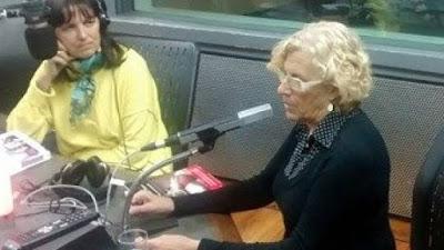 Carmena, ahora madrid, podemos, más madrid, pp, radio, ayuntamiento