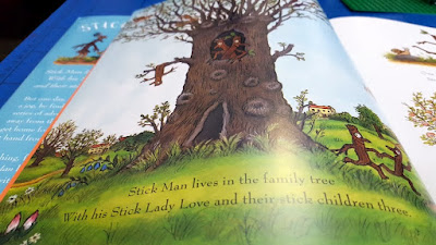 Stick Man BBC children's animated Christmas movie book review