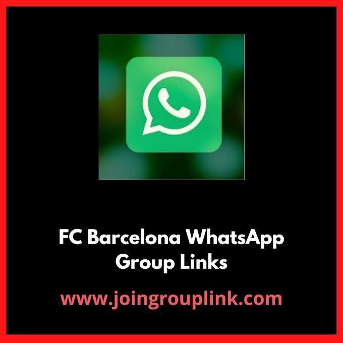 FC Barcelona WhatsApp Group Links