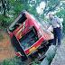 Bus Family Raya Tergelincir Masuk Parit Sitinjau Lauik
