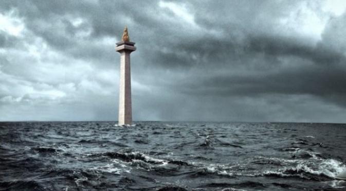 Ngeri, Jakarta Akan Menjadi Kota Pertama di Dunia yang Segera Tenggelam