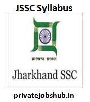 JSSC Syllabus