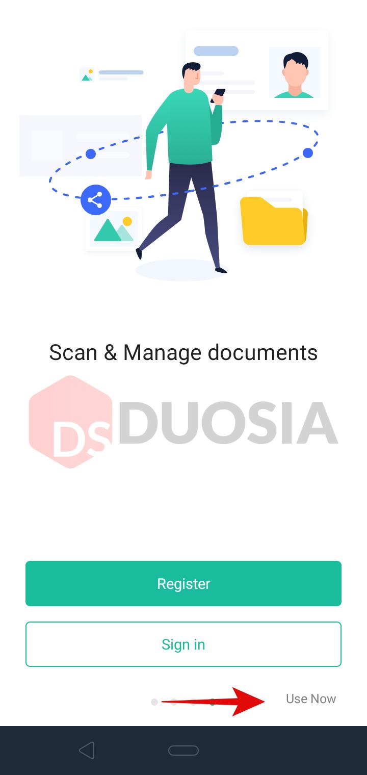 cara scan berkas di hp android