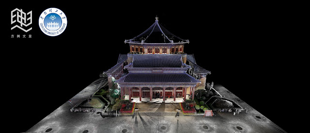 Dr. Sun Yat-Sen's Memorial Hall Point cloud model