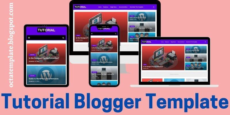 Tutorial Blogger Template