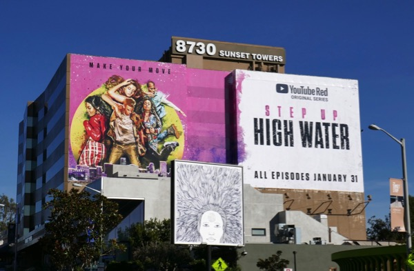 Step Up High Water YouTube Red series billboard
