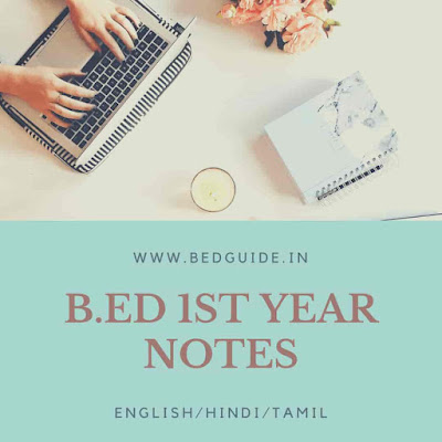 B.ed 1st Year Notes PDF Download
