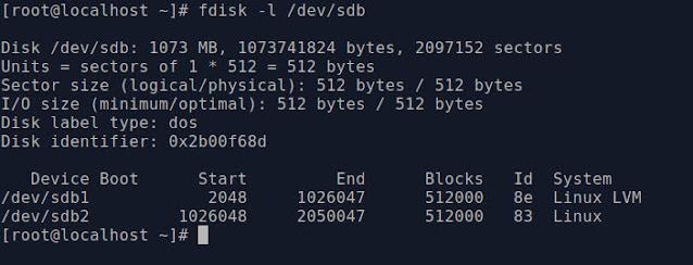 setup LVM in Linux