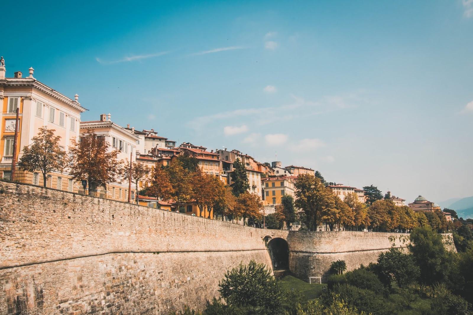 remparts Bergame Italie