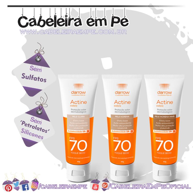 Actine Proteção Solar Dermatológica Fps 70 - Darrow