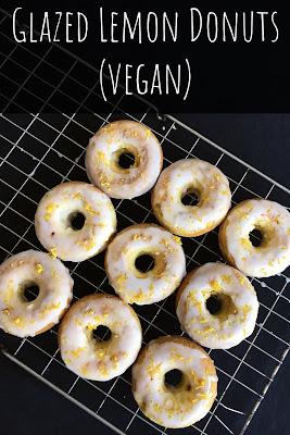 Glazed Lemon Donuts (Vegan)