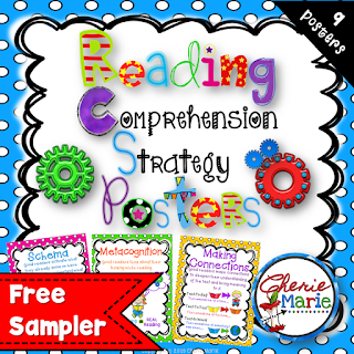 Comprehension Posters & Graphic Organizers