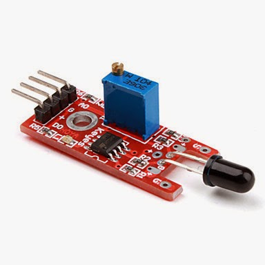 A Flame Following Robot Without Microcontroller ~ Make ...