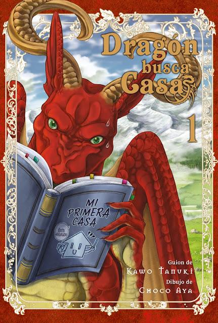 Review del manga Dragón busca casa Vol.1 de Kawo Tanuki y Choco Aya - Editorial Hidra
