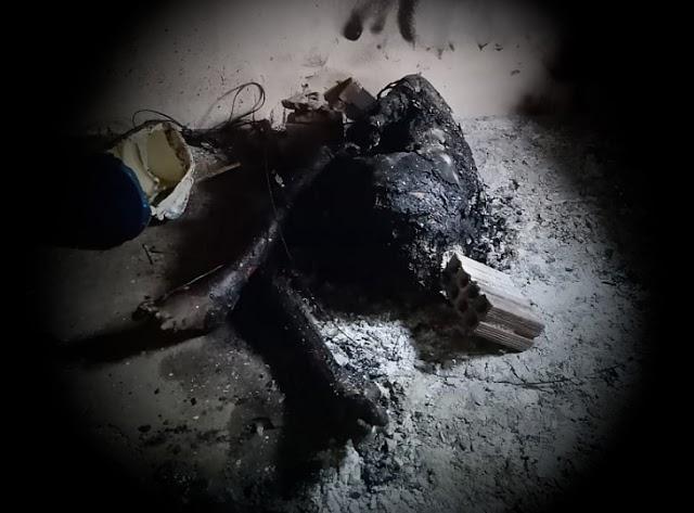 Corpo é encontrado carbonizado na zona rural de São Bento Una, PE