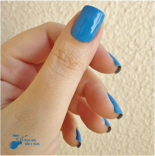 Esmalte Nailpolish Mohda Mão Boba Azul Hipoalergênico