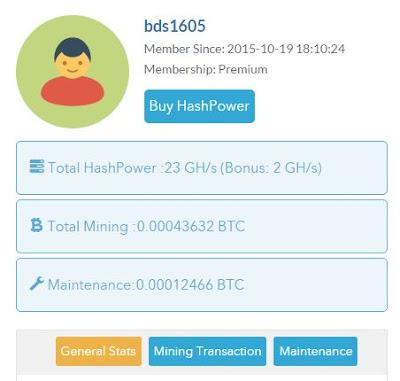 Daftar Dan Dapatkan Free 1 GH/s Di Cloud Mining Sea Mining