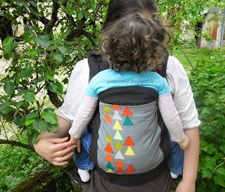 Boba Boba 4G boba4G préformé porte-bébé Peak naturiou