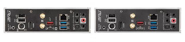MSI-MPG-B550I-Gaming-Edge-Max-WiFi-Vs-MSI-MPG-B550I-Gaming-Edge-WiFi-non-Max-Rear-IO